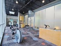Y-Loft Youth Square: fitness room