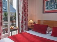 Traditioneel Tweepersoonsbed of 2 Aparte Bedden met Balkon