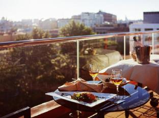 Aquamarine Hotel Moscow - Balcony/Terrace
