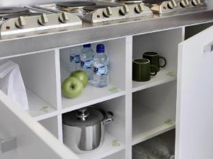 Residencia Melon District Marina Barcelona - Kitchen