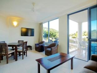 at Whitsunday Vista Resort Whitsunday Islands - Hotellet indefra