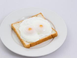 Hang Neak Hotel Phnom Penh - Poached eggs
