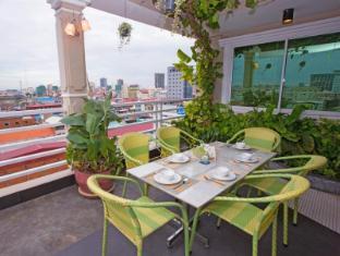 Hang Neak Hotel Phnom Penh - Restaurant views
