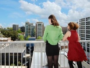 Bianco off Queen - Serviced Apartments Auckland - 2 Bedroom Duplex - View