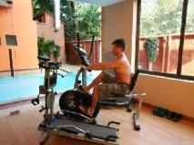 Le Seasons Beach Resort: fitness room