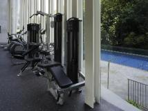 L'hotel Island South: fitness room