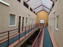 City East Motel: interior