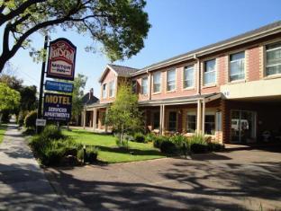 Footscray Motor Inn Melbourne - Front of Motel