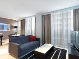 Modern Suite with One Bedroom