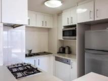 Fiori Apartments: kitchen