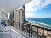 Surfers International Apartments Resort: balcony/terrace