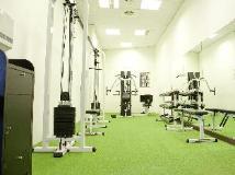 Yoho Bike Hotel: fitness room
