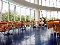 Yoho Bike Hotel: restaurant