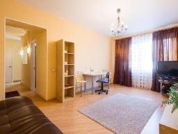 Deluxe 1-Bedroom Apartment with Kitchen
