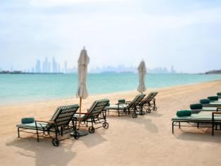 凱賓斯基及棕櫚島公寓酒店 杜拜 - 沙灘