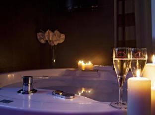 Hotel Metropolis רומא - חדר אמבטיה