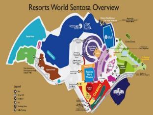 Resorts World Sentosa - Hotel Michael Singapore - Floor Plans