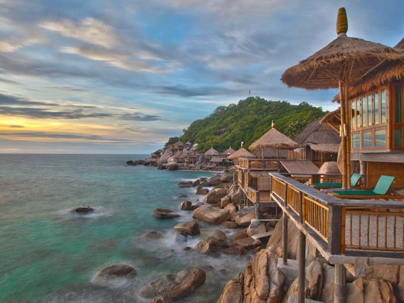 Koh Tao Bamboo Huts0