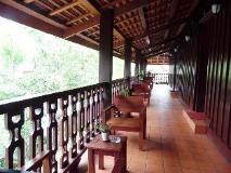 Luang Prabang Residence (The Boutique Villa): balcony/terrace