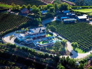 Clouds Wine and Guest Estate Stellenbosch - Arial view