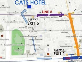 CATS Hotel Seoul - Map
