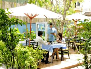 Frangipani Villa Hotel Siem Reap - Garden Cafe