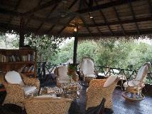 Zen Namkhan Boutique Resort: balcony/terrace