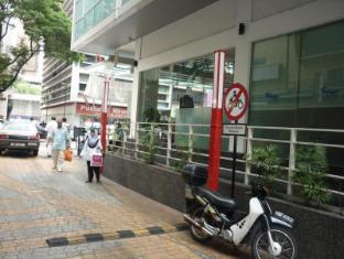 Frenz Hotel Kuala Lumpur Kuala Lumpur - Hotel Side View