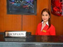Philippines Hotel   reception