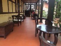 Villa Lao Wooden House: balcony/terrace