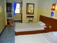 Standartinis dviejų lovų kambarys su ventiliatoriumi