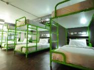 Standard Mixed Dormitory 6 Bunk Bed with Breakfast