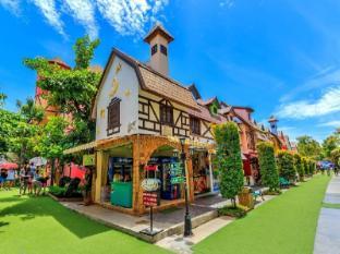 Emerald Palace Hotel Pattaya - Pattayas European village Mimosa