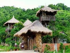 Tree Top Bungalow | Cheap Hotels in Kep Cambodia