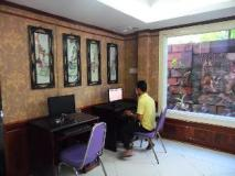Xaysomboun Hotel: business center