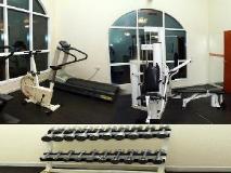 Basma Residence: fitness room