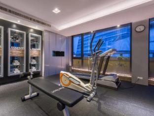 Forward Hotel Nangang Taipeh - Fitnessraum