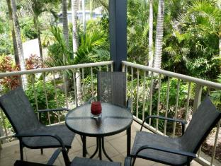 Airlie Apartments Whitsunday Islands - מרפסת