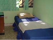 Camera Singola con Ventilatore e Bagno in Comune