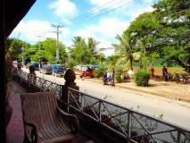 Luang Prabang River Lodge: balcony/terrace