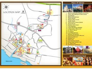 Hallmark Inn Malacca - Map