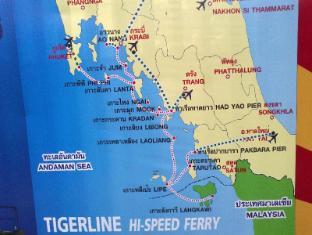 Gooddays Lanta Beach Resort Koh Lanta - Map