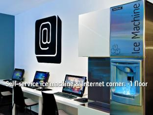 Bohem Art Hotel Budapest - Internet Corner & Ice Machine