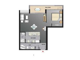 Meriton Serviced Apartments Aqua Street Gold Coast - 1 Bedroom Apartment