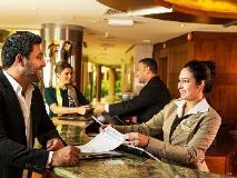 Officers Club & Hotel: lobby