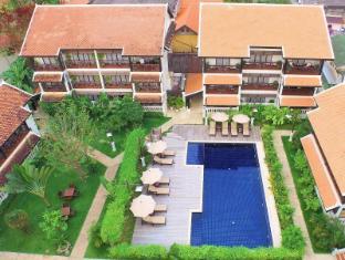 Ansara Hotel Vientián - Jardín