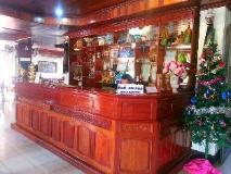 Sisavath Hotel: reception