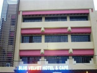 Blue Velvet Hotel & Cafe Davao - Hotellet udefra