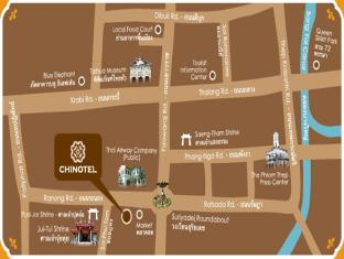 Chinotel Phuket - Carte