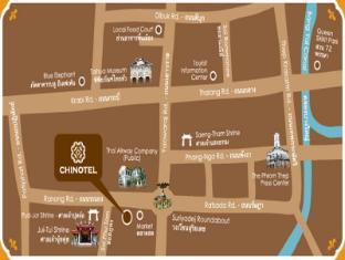 Chinotel Phuket - hartă